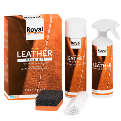 Care kit brushed leather