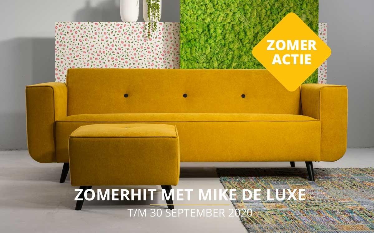 Bank Mike de Luxe = zomeractie 2020